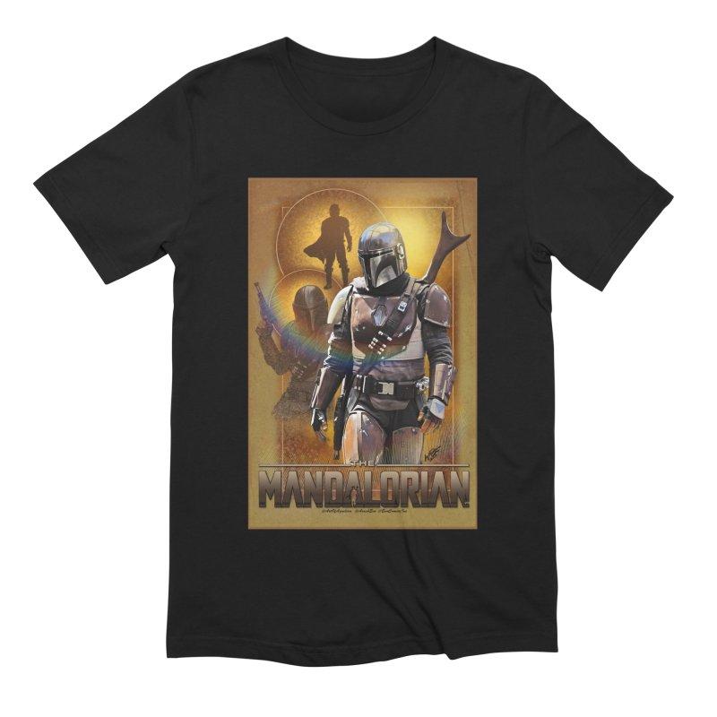 Star Wars - Mandalorian Men's Extra Soft T-Shirt by Evolution Comics INC