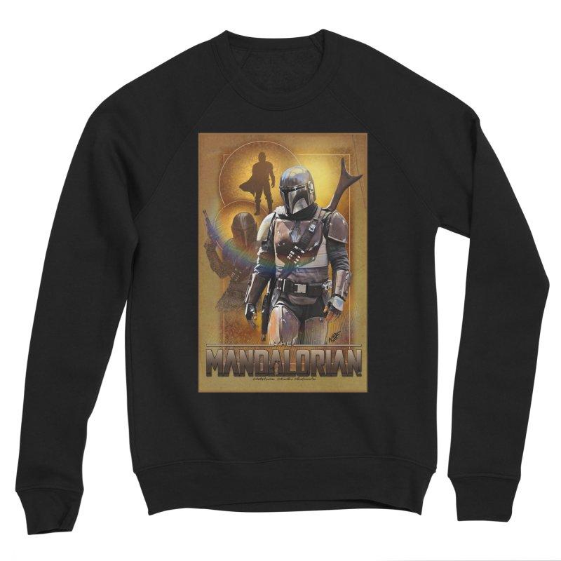Star Wars - Mandalorian Men's Sponge Fleece Sweatshirt by Evolution Comics INC