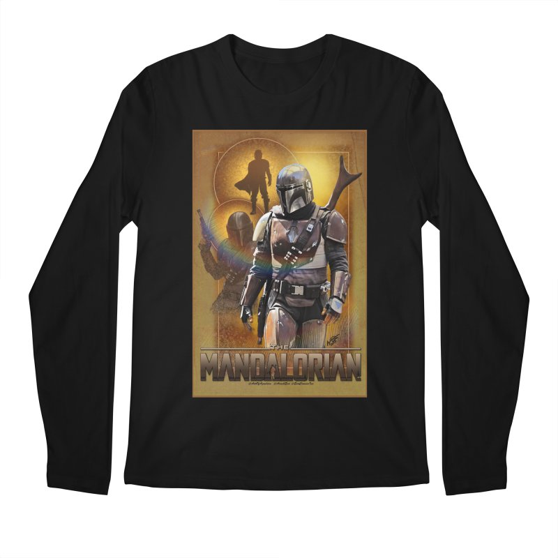 Star Wars - Mandalorian Men's Regular Longsleeve T-Shirt by Evolution Comics INC