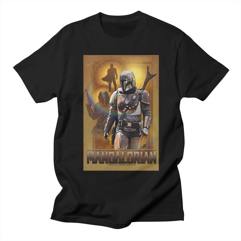 Star Wars - Mandalorian Men's Regular T-Shirt by Evolution Comics INC