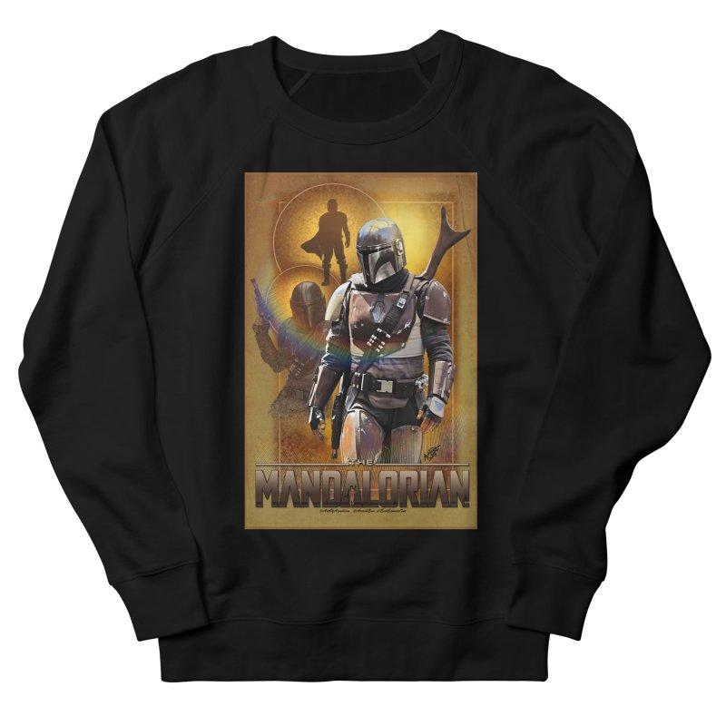 Star Wars - Mandalorian Men's French Terry Sweatshirt by Evolution Comics INC