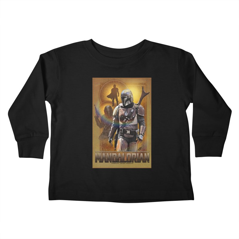 Star Wars - Mandalorian Kids Toddler Longsleeve T-Shirt by Evolution Comics INC
