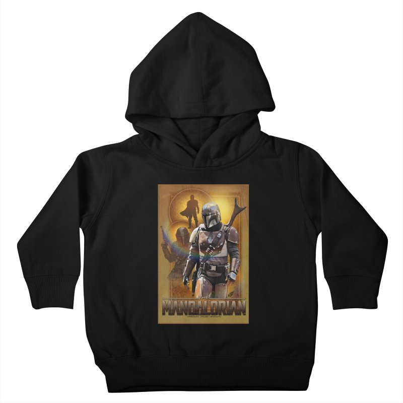 Star Wars - Mandalorian Kids Toddler Pullover Hoody by Evolution Comics INC