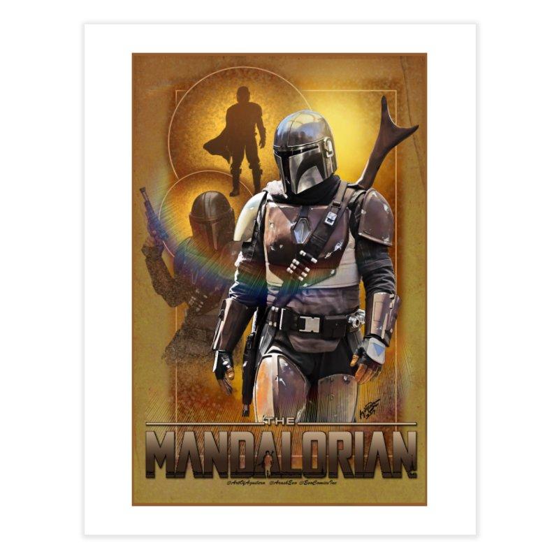 Star Wars - Mandalorian Home Fine Art Print by Evolution Comics INC