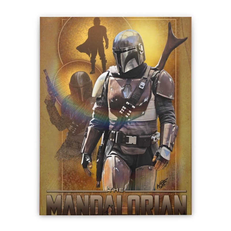 Star Wars - Mandalorian Home Stretched Canvas by Evolution Comics INC