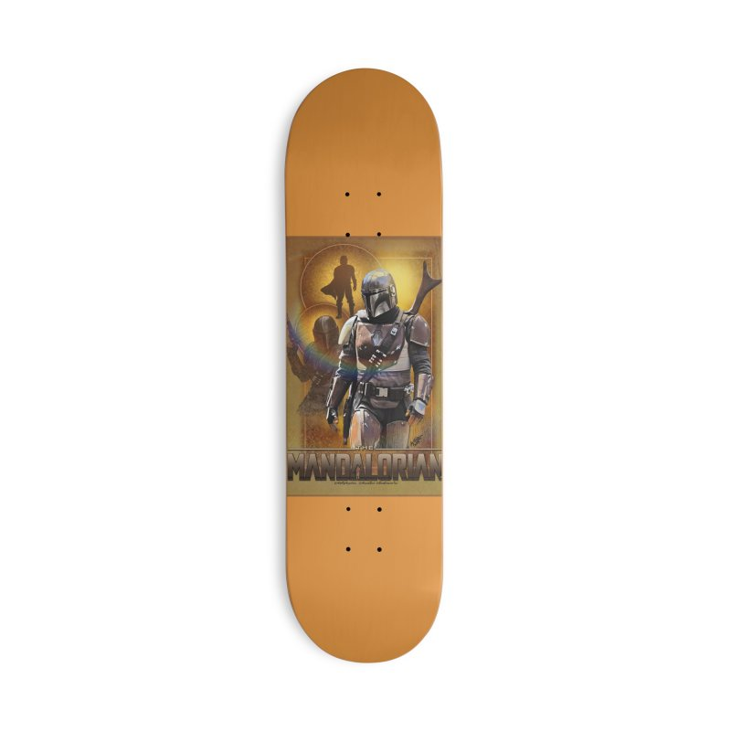 Star Wars - Mandalorian Accessories Deck Only Skateboard by Evolution Comics INC
