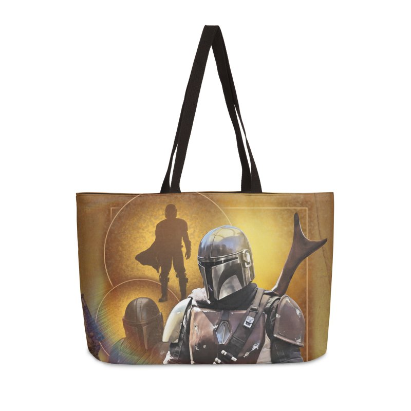 Star Wars - Mandalorian Accessories Weekender Bag Bag by Evolution Comics INC