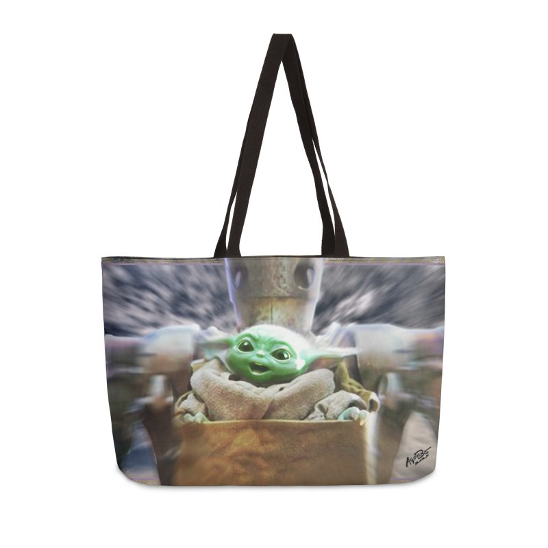 Happy Baby Rider Accessories Weekender Bag Bag by Evolution Comics INC