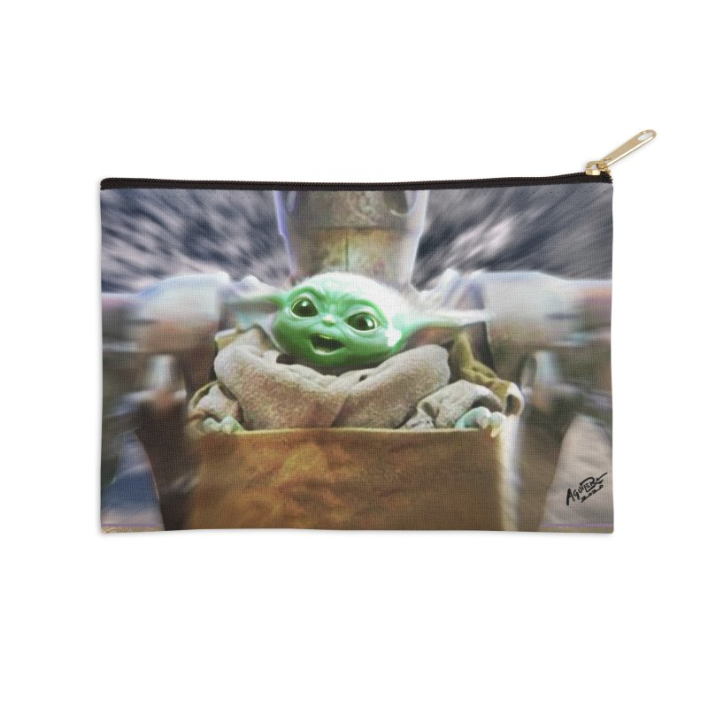 Happy Baby Rider Accessories Zip Pouch by Evolution Comics INC
