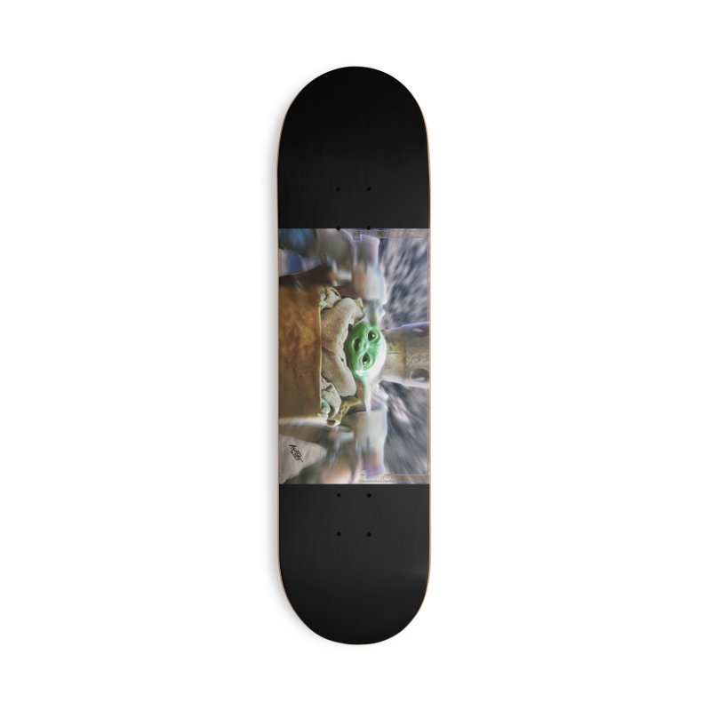 Happy Baby Rider Accessories Deck Only Skateboard by Evolution Comics INC