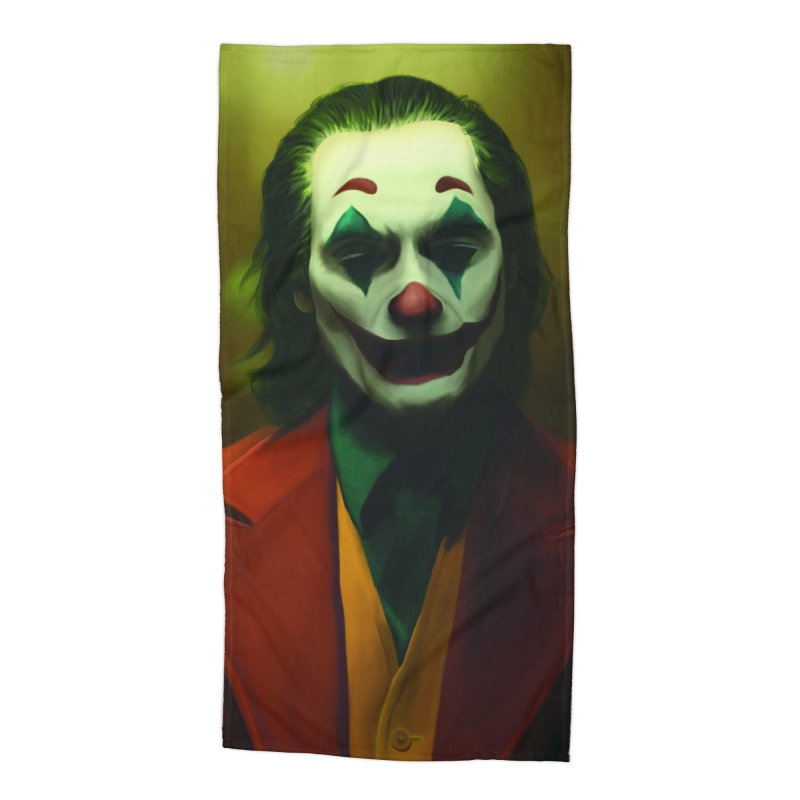 Joker Phoenix Accessories Beach Towel by Evolution Comics INC