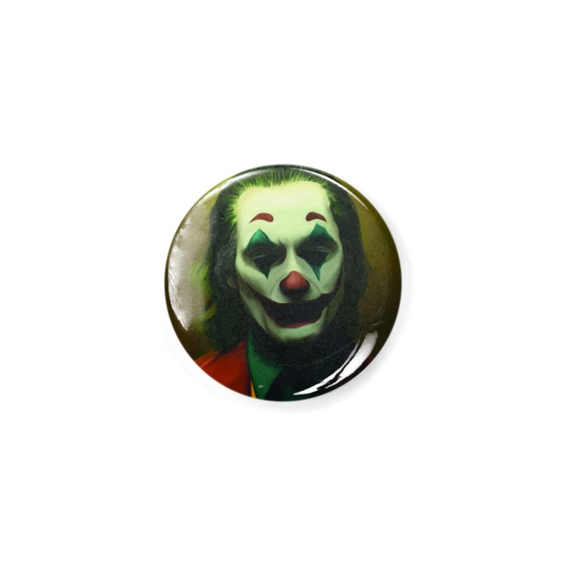 Joker Phoenix Accessories Button by Evolution Comics INC