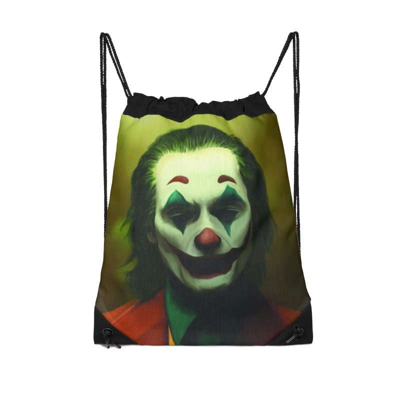 Joker Phoenix Accessories Drawstring Bag Bag by Evolution Comics INC