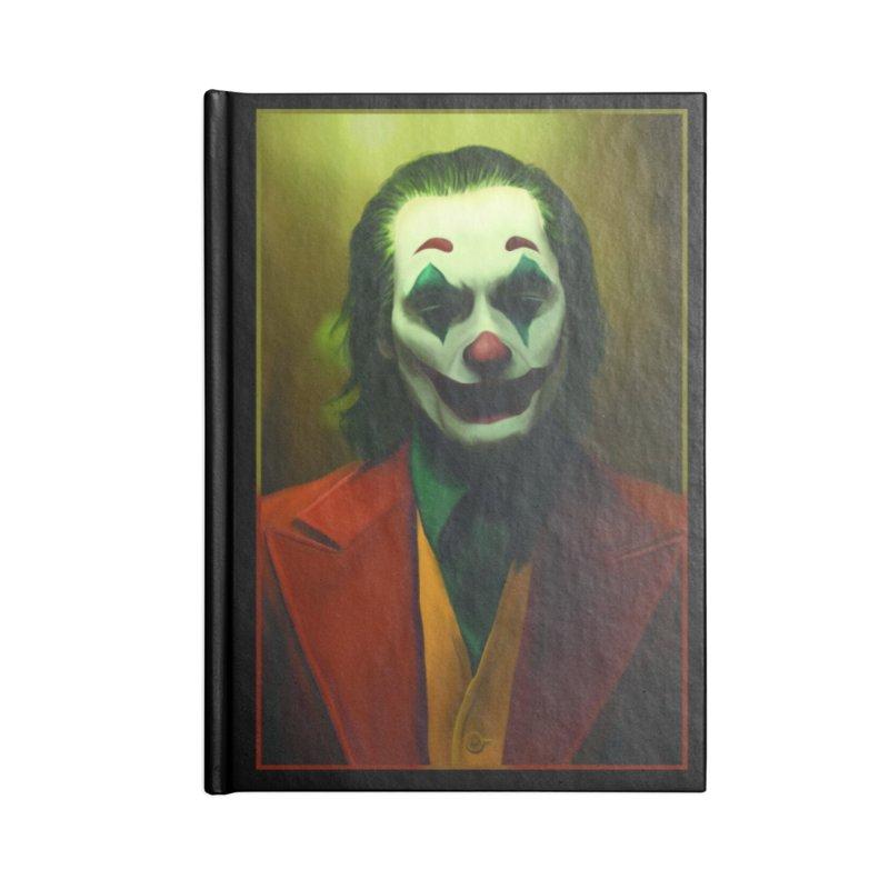 Joker Phoenix Accessories Lined Journal Notebook by Evolution Comics INC