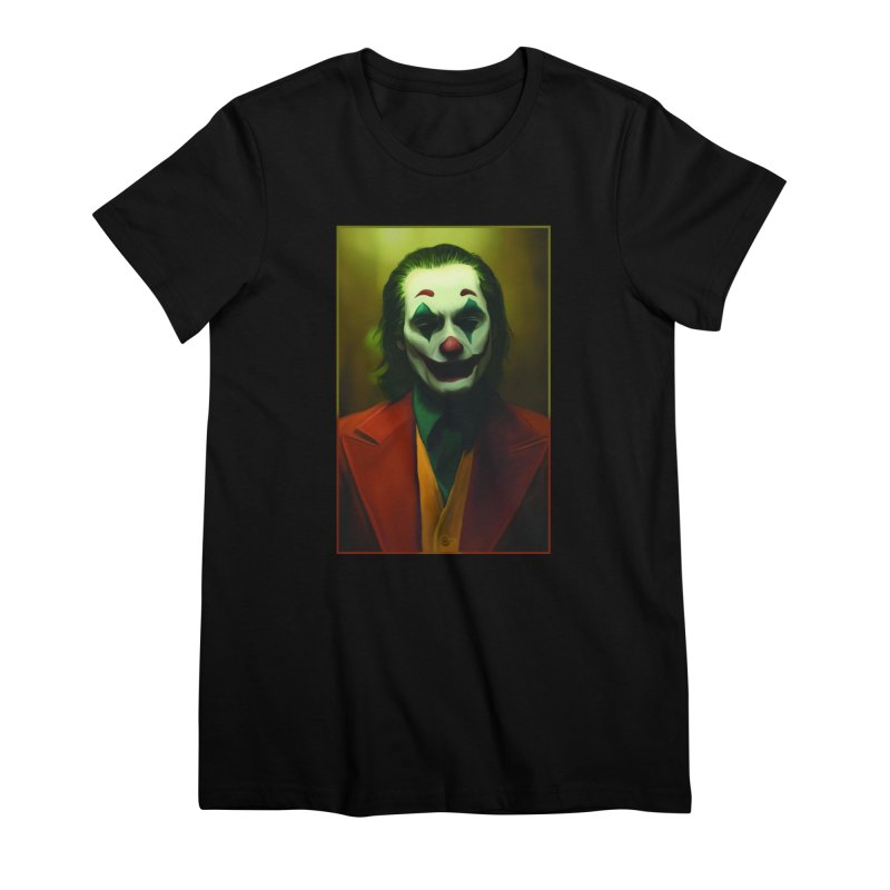 Joker Phoenix Women's Premium T-Shirt by Evolution Comics INC