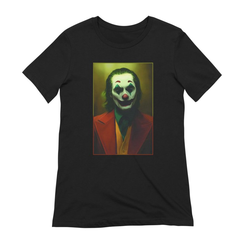 Joker Phoenix Women's Extra Soft T-Shirt by Evolution Comics INC