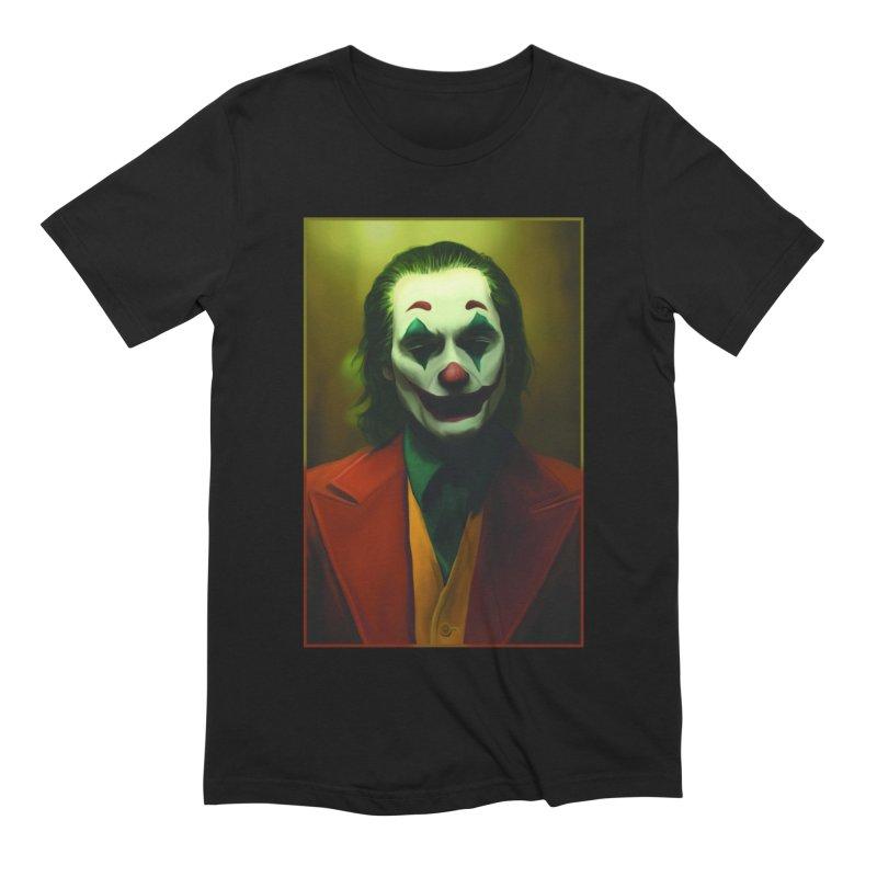 Joker Phoenix Men's Extra Soft T-Shirt by Evolution Comics INC