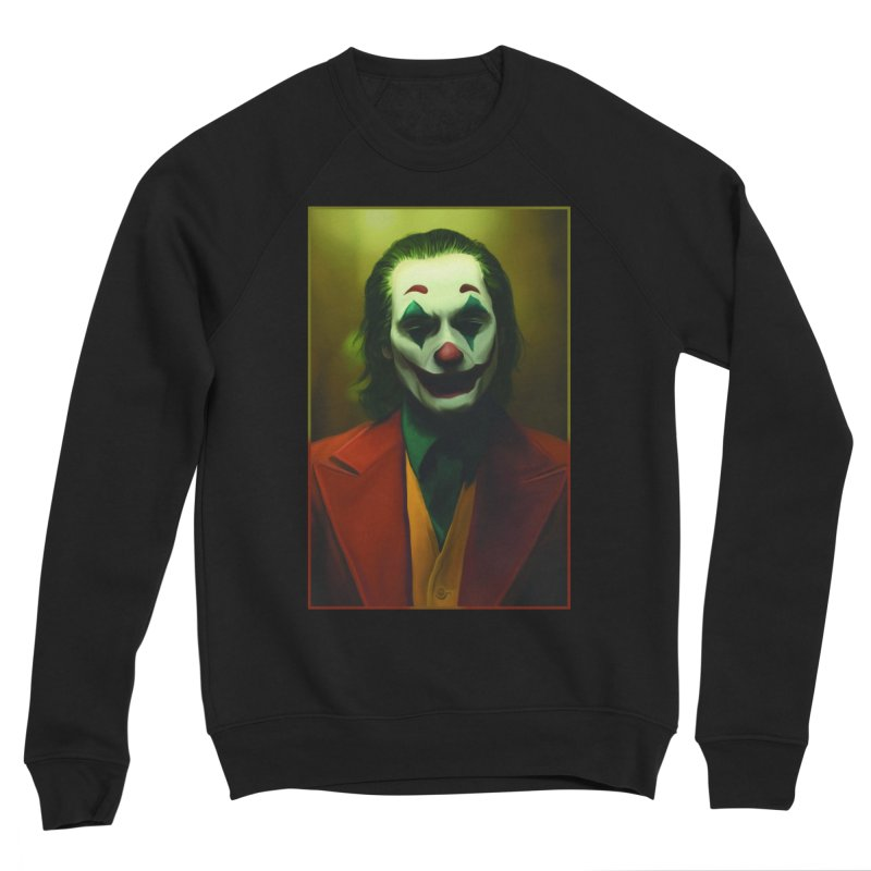 Joker Phoenix Men's Sponge Fleece Sweatshirt by Evolution Comics INC