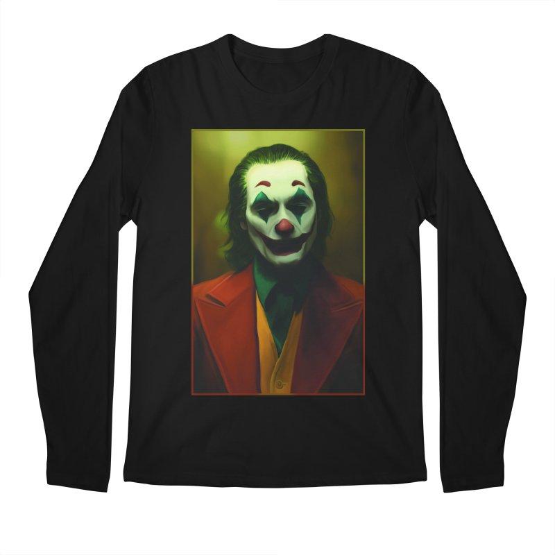 Joker Phoenix Men's Regular Longsleeve T-Shirt by Evolution Comics INC