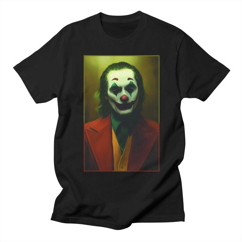 Joker Phoenix Men's Regular T-Shirt by Evolution Comics INC