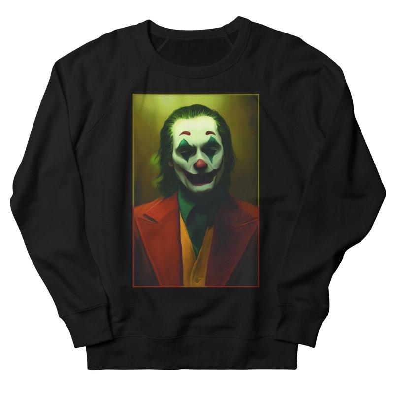 Joker Phoenix Men's French Terry Sweatshirt by Evolution Comics INC