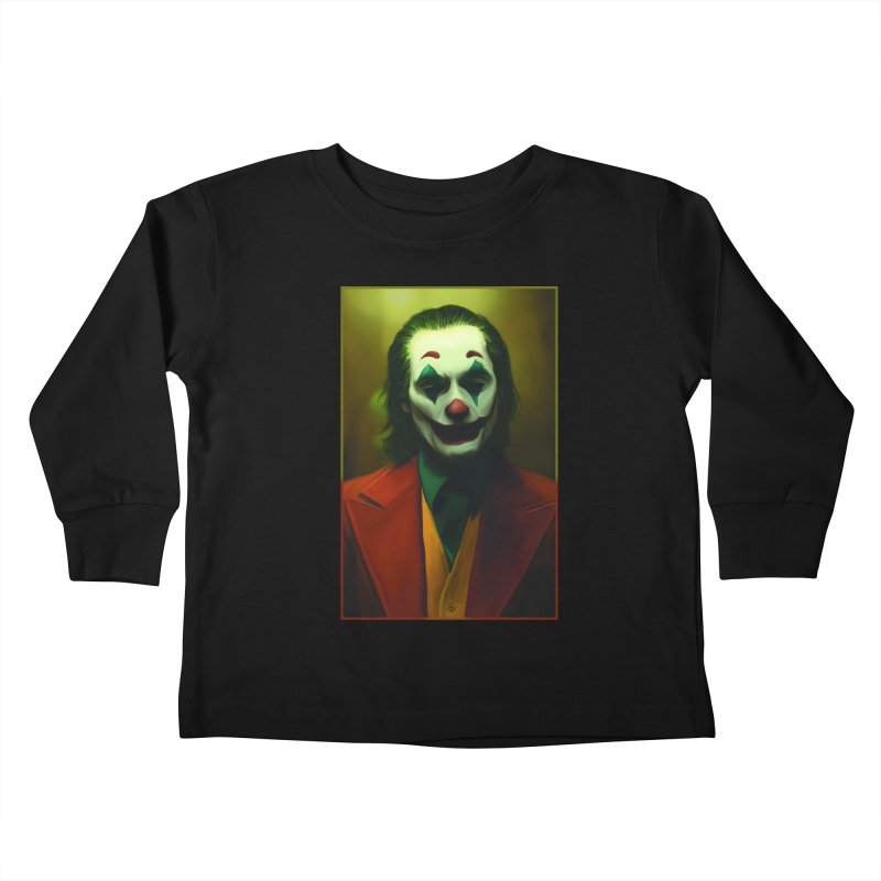 Joker Phoenix Kids Toddler Longsleeve T-Shirt by Evolution Comics INC
