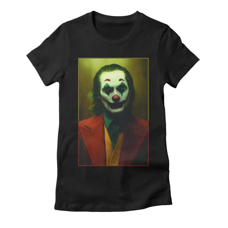 Joker Phoenix Women's Fitted T-Shirt by Evolution Comics INC