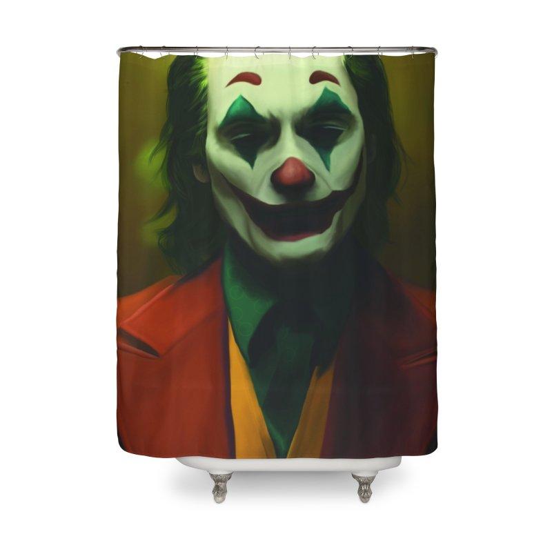 Joker Phoenix Home Shower Curtain by Evolution Comics INC