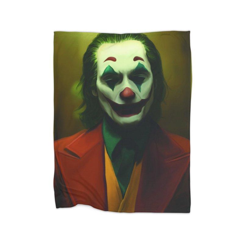Joker Phoenix Home Fleece Blanket Blanket by Evolution Comics INC