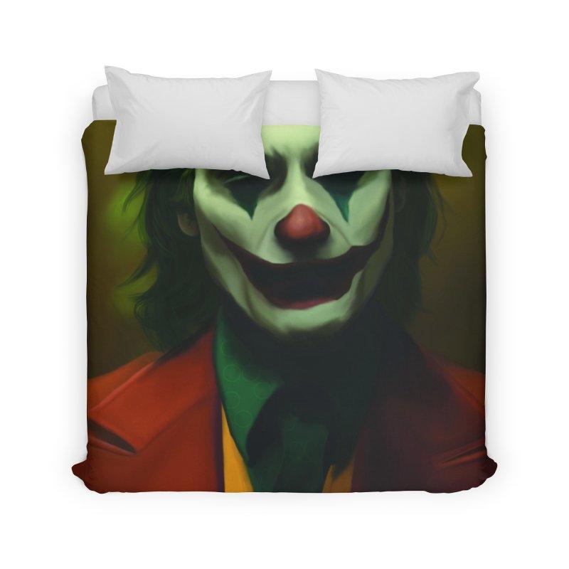Joker Phoenix Home Duvet by Evolution Comics INC