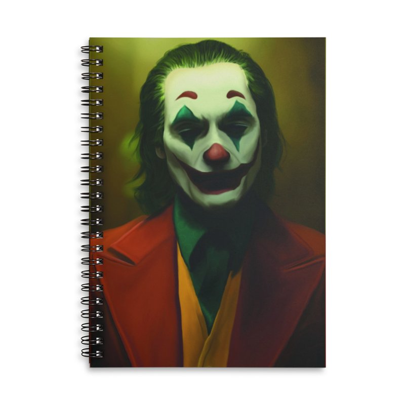 Joker Phoenix Accessories Lined Spiral Notebook by Evolution Comics INC