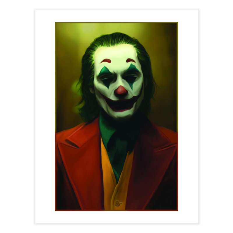 Joker Phoenix Home Fine Art Print by Evolution Comics INC