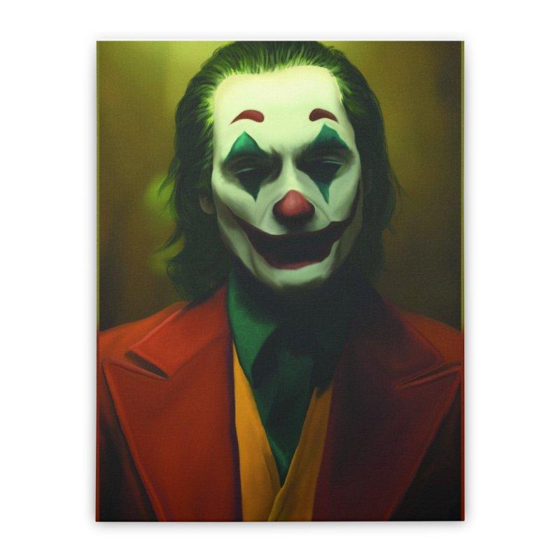 Joker Phoenix Home Stretched Canvas by Evolution Comics INC