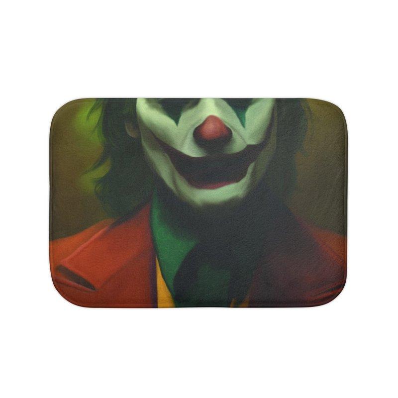 Joker Phoenix Home Bath Mat by Evolution Comics INC