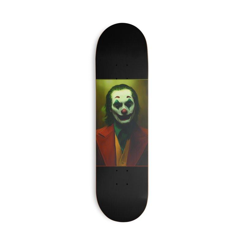 Joker Phoenix Accessories Deck Only Skateboard by Evolution Comics INC