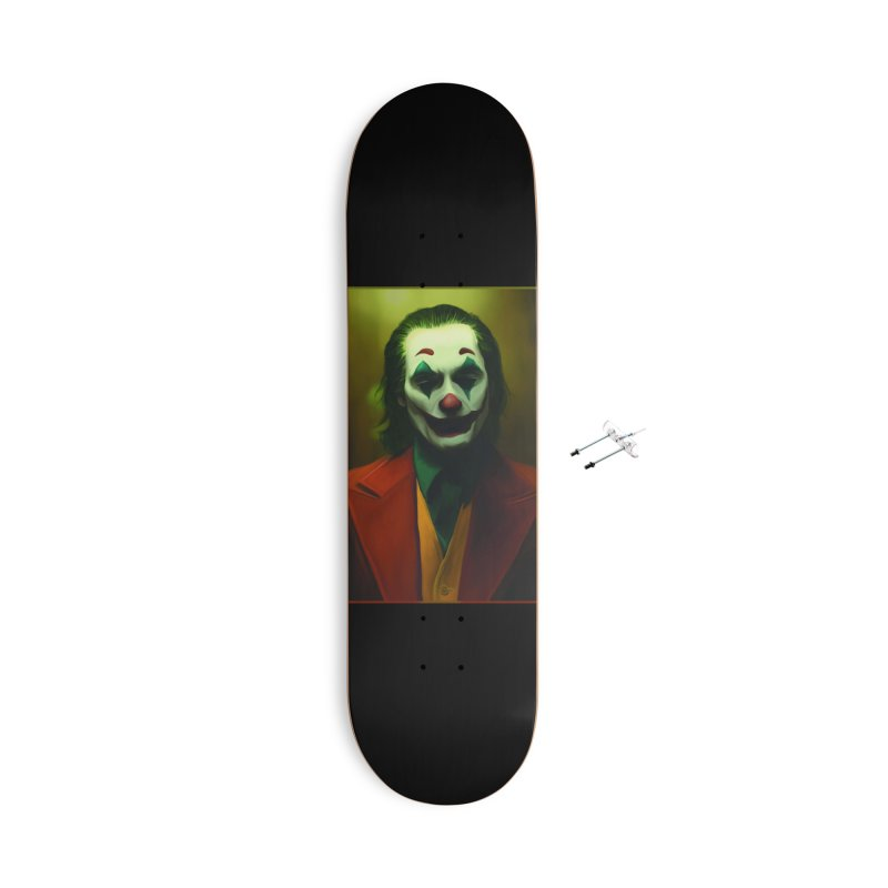 Joker Phoenix Accessories With Hanging Hardware Skateboard by Evolution Comics INC