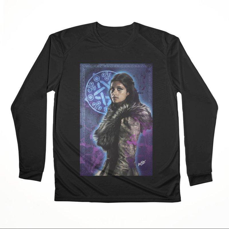 Yennifer - Witcher Men's Performance Longsleeve T-Shirt by Evolution Comics INC