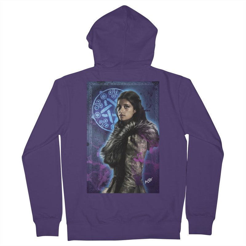 Yennifer - Witcher Women's French Terry Zip-Up Hoody by Evolution Comics INC