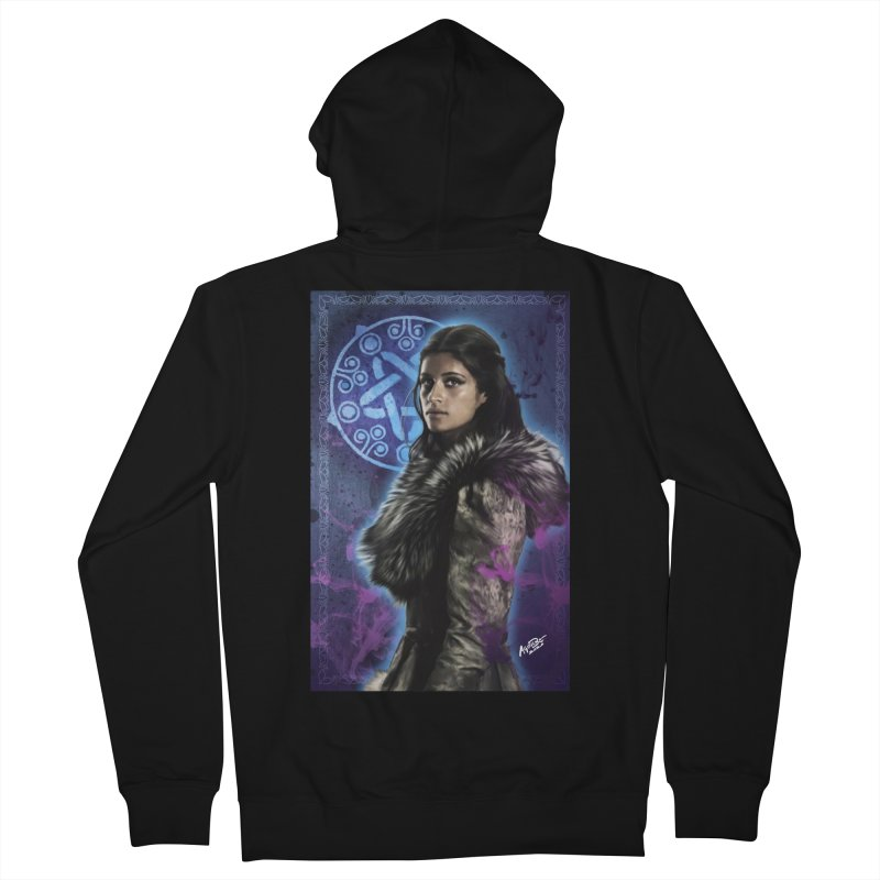 Yennifer - Witcher Men's French Terry Zip-Up Hoody by Evolution Comics INC