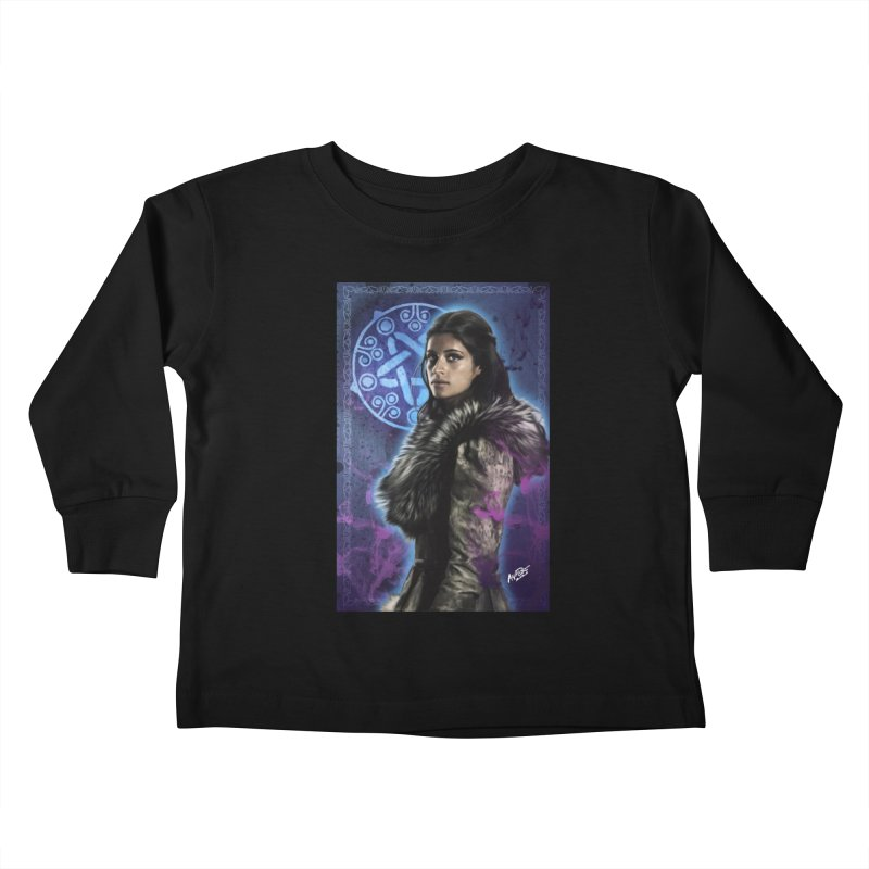 Yennifer - Witcher Kids Toddler Longsleeve T-Shirt by Evolution Comics INC