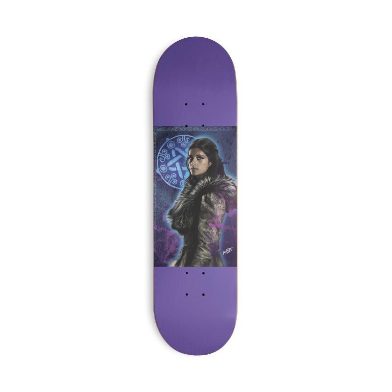Yennifer - Witcher Accessories Deck Only Skateboard by Evolution Comics INC