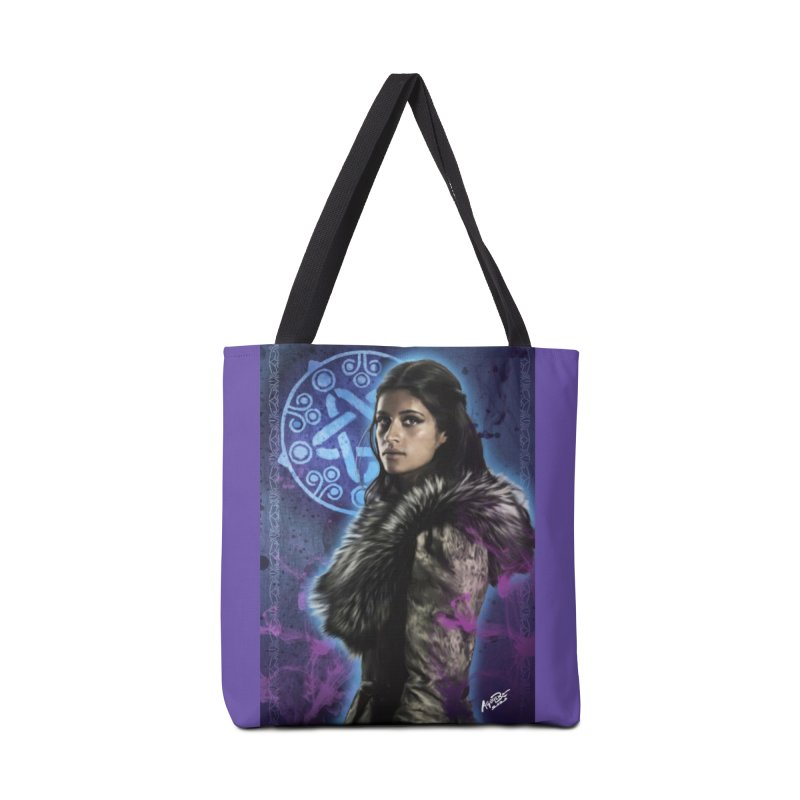 Yennifer - Witcher Accessories Tote Bag Bag by Evolution Comics INC