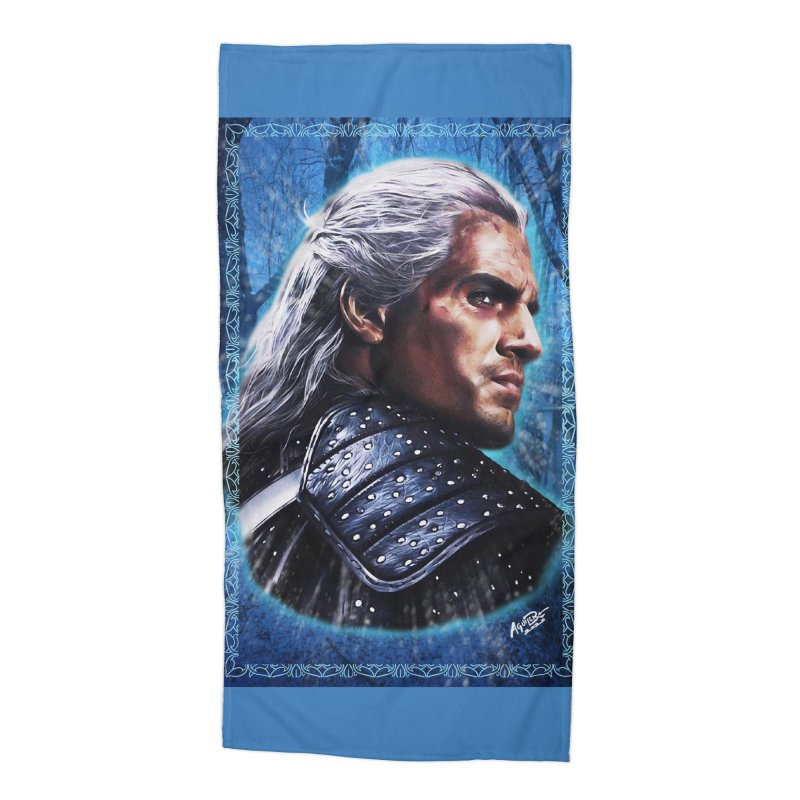 Witcher Accessories Beach Towel by Evolution Comics INC