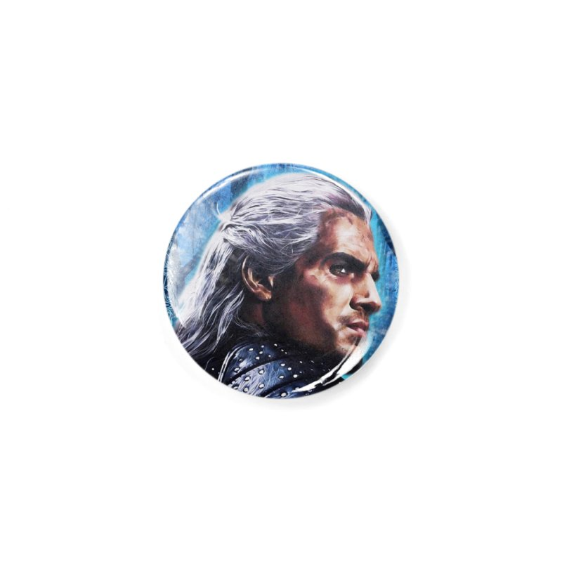 Witcher Accessories Button by Evolution Comics INC