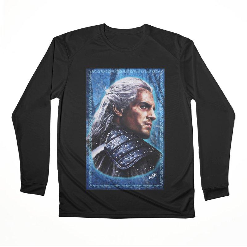 Witcher Men's Performance Longsleeve T-Shirt by Evolution Comics INC