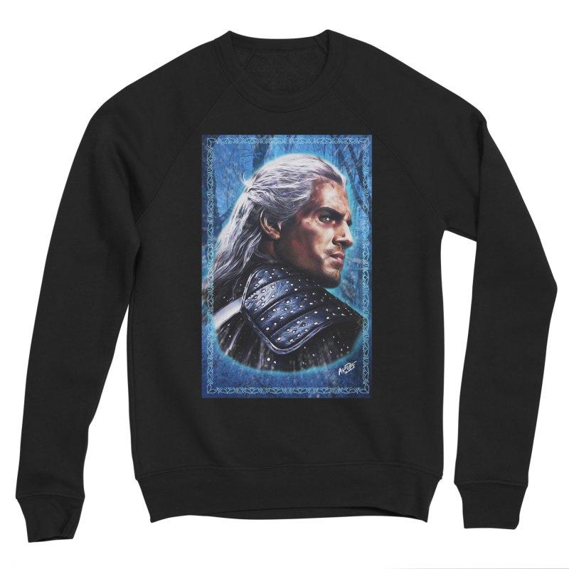 Witcher Men's Sponge Fleece Sweatshirt by Evolution Comics INC