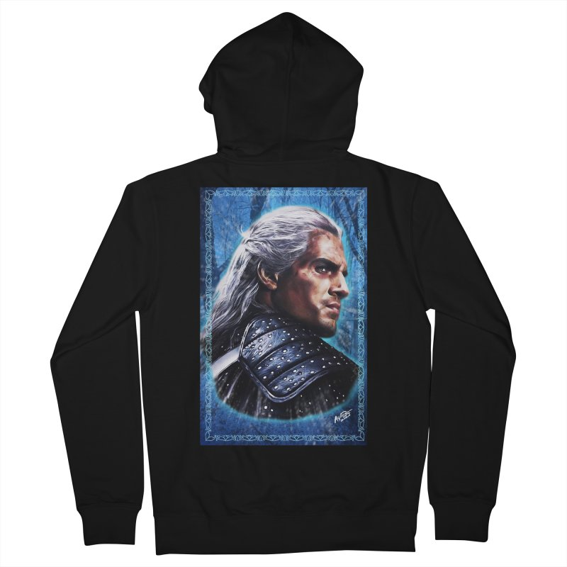 Witcher Men's French Terry Zip-Up Hoody by Evolution Comics INC
