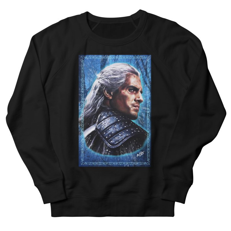 Witcher Men's French Terry Sweatshirt by Evolution Comics INC
