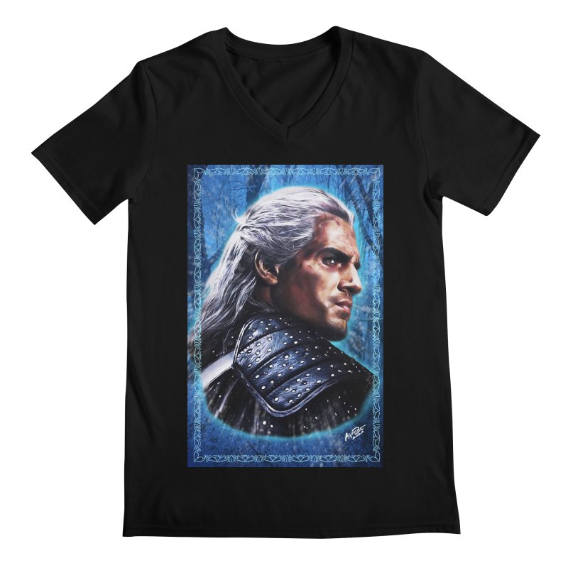 Witcher Men's Regular V-Neck by Evolution Comics INC