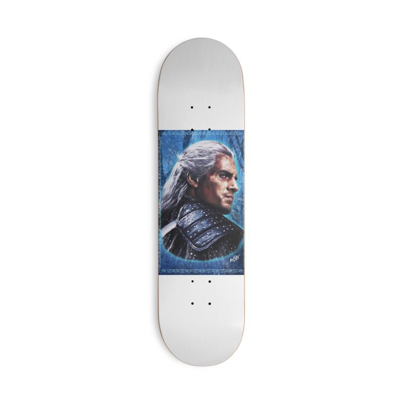 Witcher Accessories Deck Only Skateboard by Evolution Comics INC